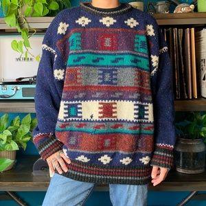 VINTAGE ST. JOHN'S BAY chunky knit sweater